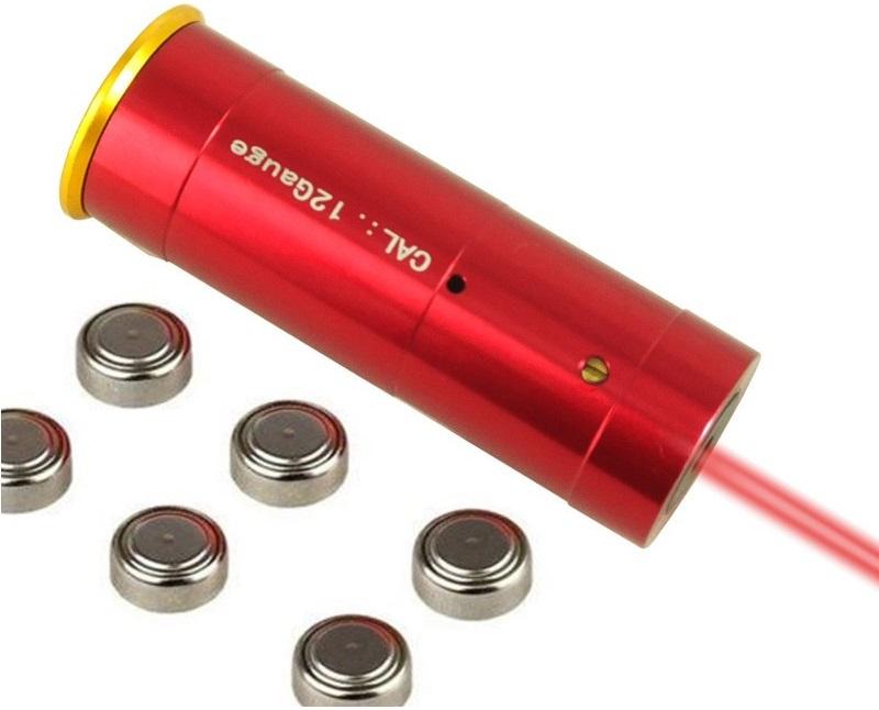 Патрон холодной пристрелки лазер 12 калибр