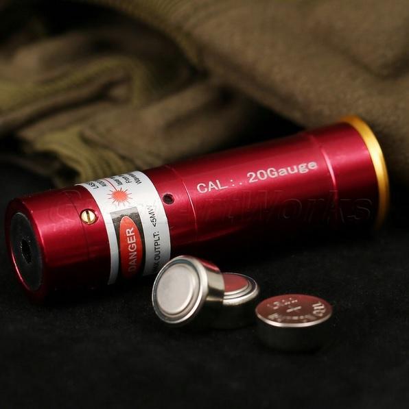 Патрон холодной пристрелки лазер 20 калибр