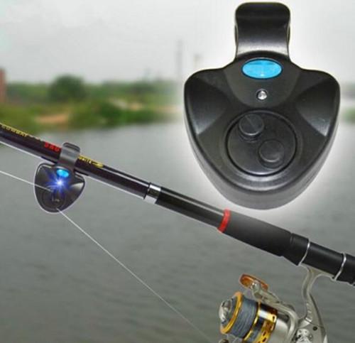 Сигнализация поклевки рыбы звук и свет электронная