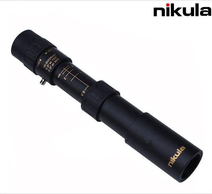 Монокуляр Nikula телескопический оптика 10 - 30 X 25 новый