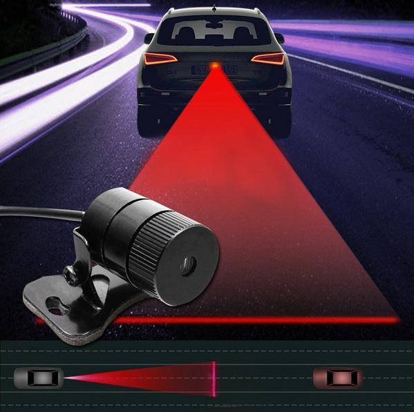 Универсальный лазерный противотуманный стоп сигнал фонарь - гарант безопасного движения