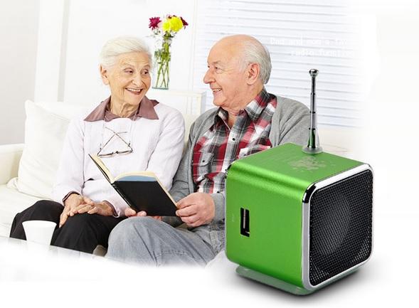 Мини V-26 динамик с FM радио USB / FM / MP3 / TF - card