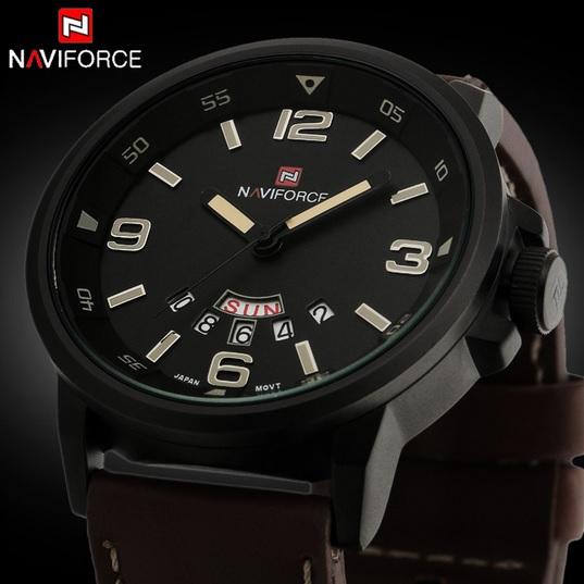 Армейские массивные наручные кварцевые часы для настоящих мужчин с датой и днями недели