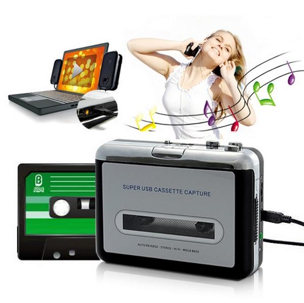 КАССЕТНЫЙ ПЛЕЕР и USB - КОНВЕРТЕР в MP3 конвектор