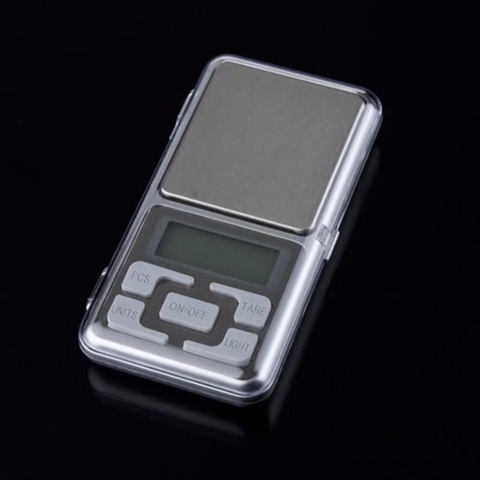 Карманные портативные ювелирные цифровые электронные весы 500гр х 0.1гр