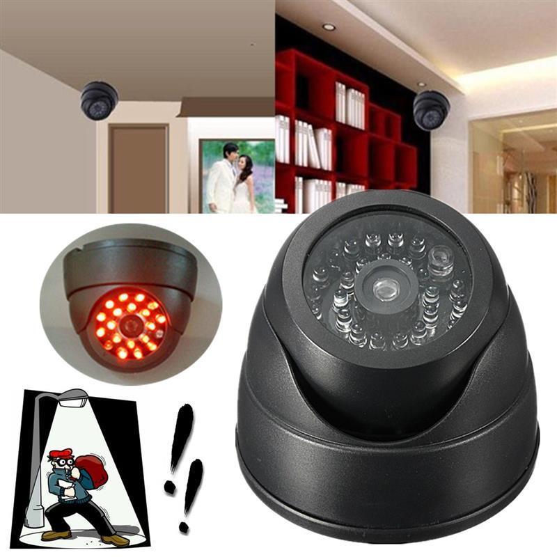 Муляж камеры наблюдения купольного типа реалистичная копия имитатор запись ИК IR