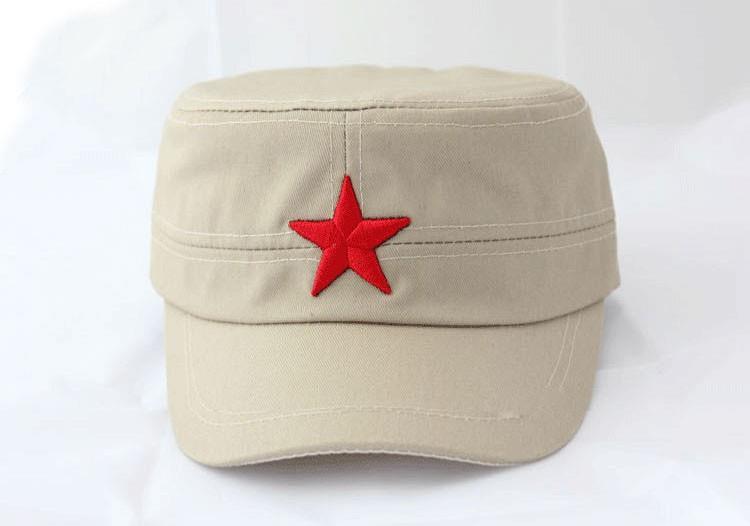 Кепка с красной звездой 34G