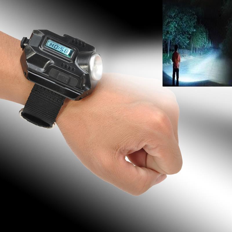 Часы наручные ТАКТИЧЕСКИЕ для ВЫЖИВАНИЯ с фонариком