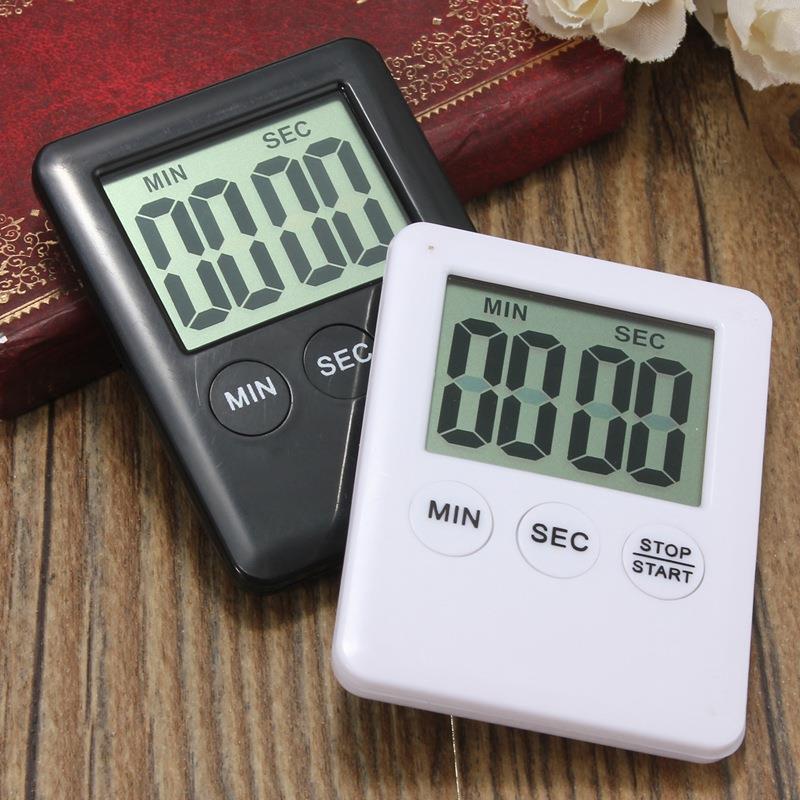 Электронный бытовой таймер кухонный обратный отсчет времени для занятий спортом фитнесом кухня