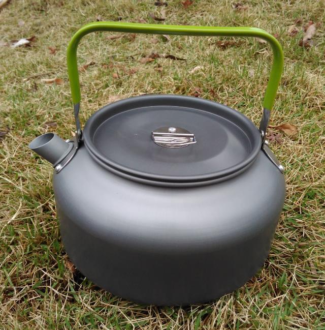 Походный туристический чайник 1.2 литра для пикника поездки охоты рыбалки кемпинга костра