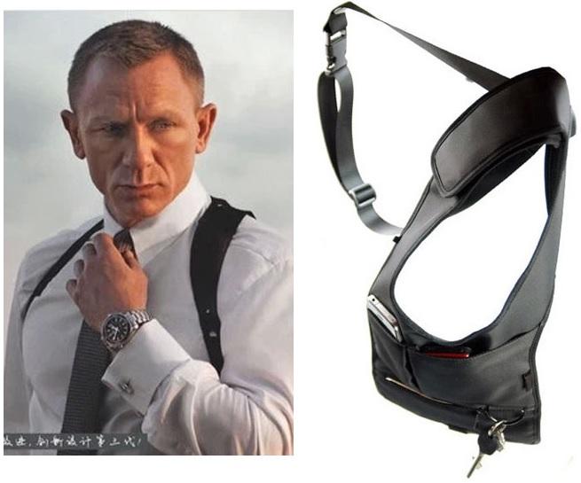 FBI сумка потайная АГЕНТ 007 ФБР скрытного ношения new