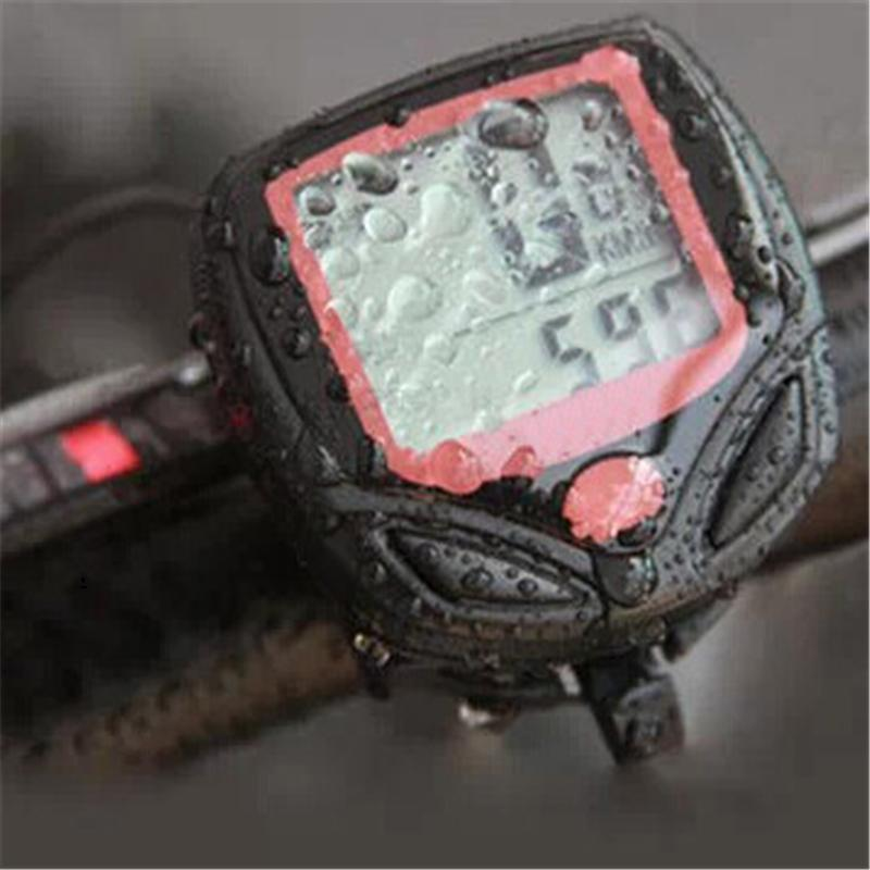 ВЕЛОКОМПЬЮТЕР одометр электронный цифровой 14 функций водозащищенный водозащитный для велосипеда