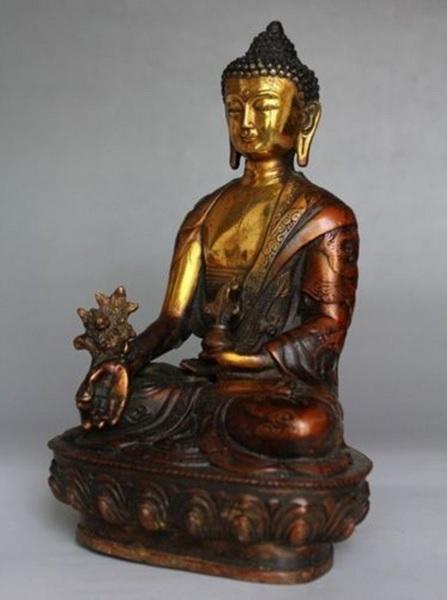 Бодхисаттва Будда Шакьямуни Тибет латунь