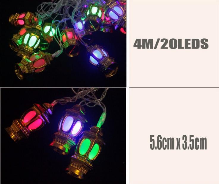 20 LED 4 метра ГИРЛЯНДА светодиодная ФОНАРИКИ new