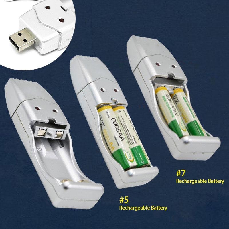 Зарядное устройство USB для Ni-MH АА/AAA аккумуляторов