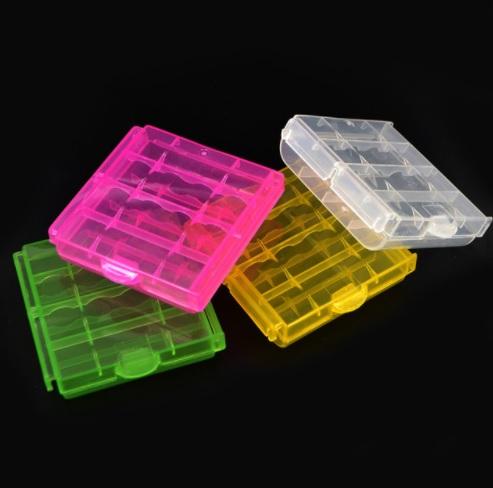 Коробки для 4шт АА / ААА / 10440 / 14500 батареек и аккумуляторов