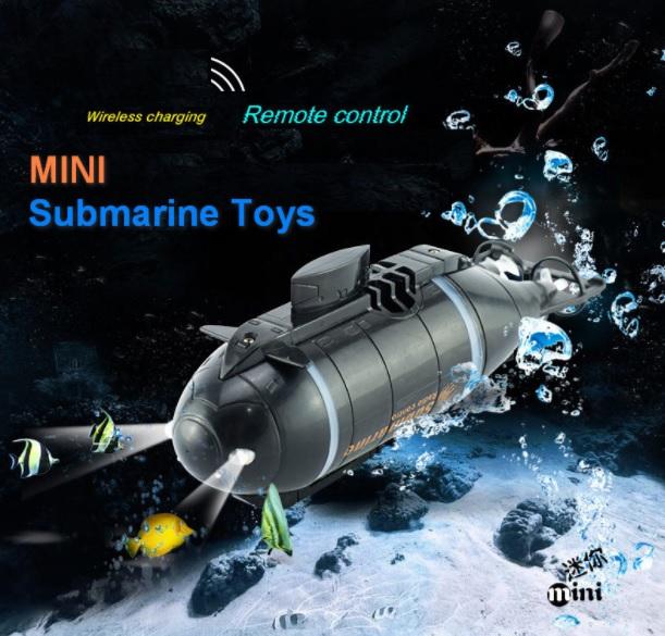 Радиоуправляемая модель подводной лодки субмарина