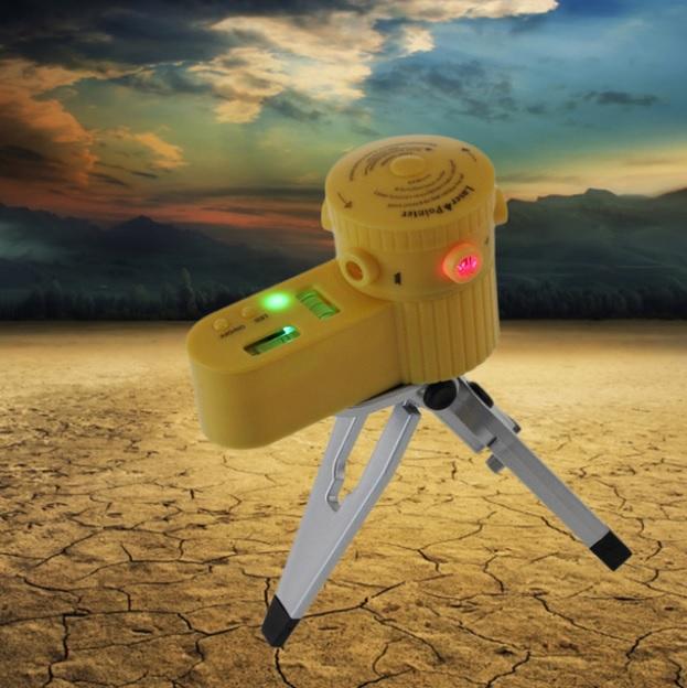 Многофункциональный лазерный нивелир уровень с треногой