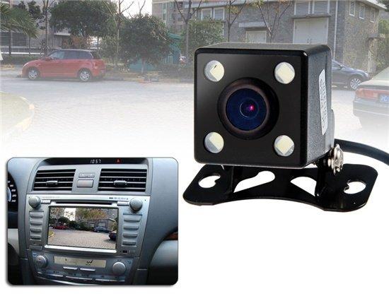 Автомобильная камера заднего вида с ночным видением ИК инфракрасная подсветка