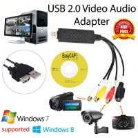 USB карта видеозахвата адаптер 2 канала оцифровка видео