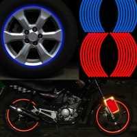 Светоотражающие наклейки на колеса автомобиля байка велосипеда мотоцикла
