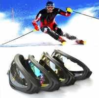 Спортивные защитные очки маска для лыжников и велосипедистов сноуборд горнолыжные