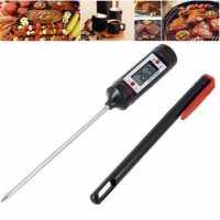 Цифровой электронный кухонный термометр градусник для приготовления пищи напитков еды