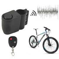 Охранная ПРОТИВОУГОННАЯ СИГНАЛИЗАЦИЯ без ключей 110Дб + ПУЛЬТ ДУ для велосипед мотоцикл байк мотик мото