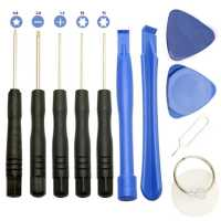 Набор Комплект Инструментов 11 в 1 для Ремонта Вскрытия Телефонов  Планшетов Ноутбуков
