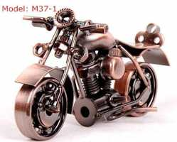 Модель мотоцикла байка 2 цвета металл