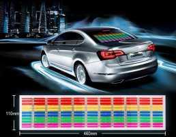 EL LED панель, активируемая музыкой